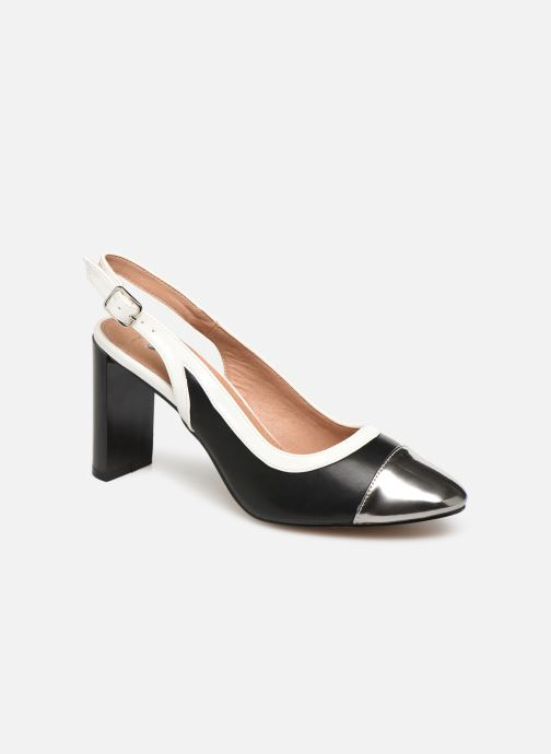 High heels Vanessa Wu SD1549 Black detailed view/ Pair view