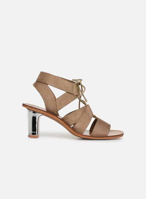 Sandales et nu-pieds Vanessa Wu SD1552 Beige vue derrière