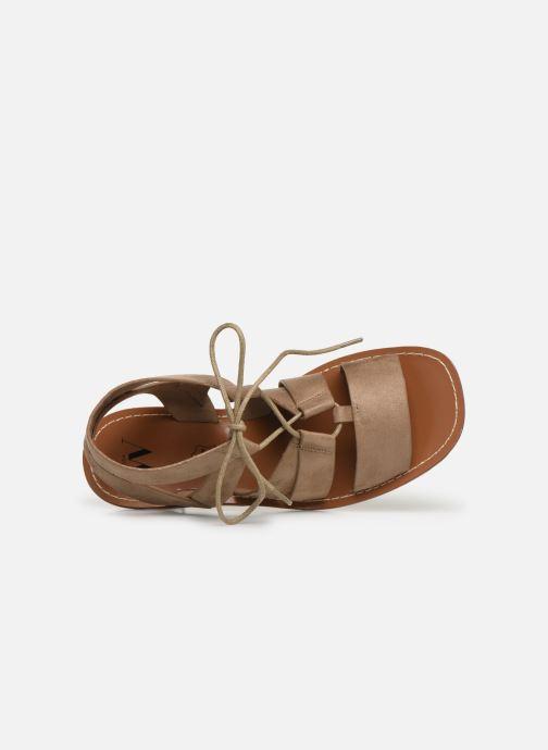 Sandali e scarpe aperte Vanessa Wu SD1552 Beige immagine sinistra