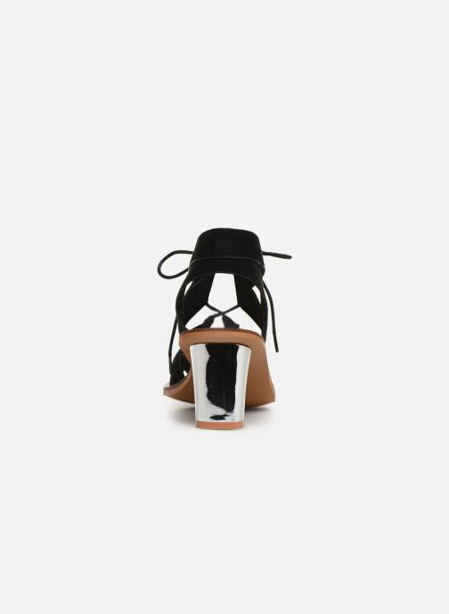 Sandali e scarpe aperte Vanessa Wu SD1552 Nero immagine destra