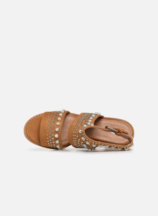 Vanessa Wu SD1759 (Marron) - Sandales et nu-pieds chez  (381353)