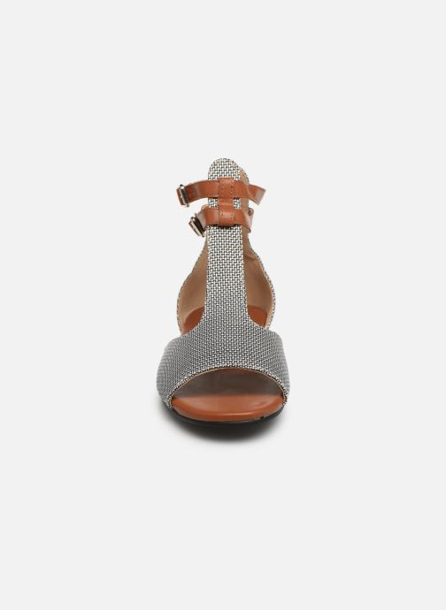 Sandales et nu-pieds Vanessa Wu SD1793 Gris vue portées chaussures