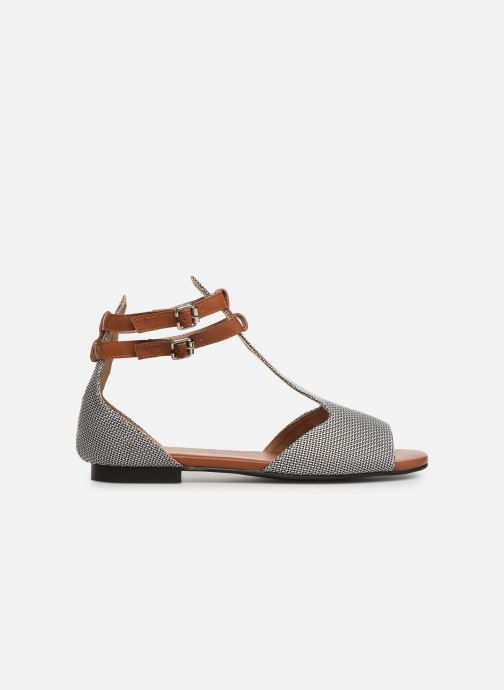 Sandals Vanessa Wu SD1793 Grey back view