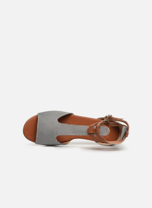 Sandals Vanessa Wu SD1793 Grey view from the left