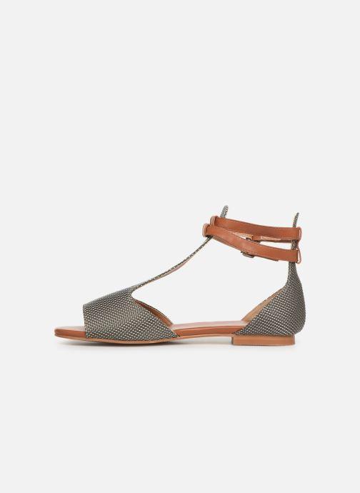 Sandales et nu-pieds Vanessa Wu SD1793 Vert vue face
