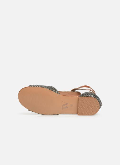 Sandales et nu-pieds Vanessa Wu SD1793 Vert vue haut