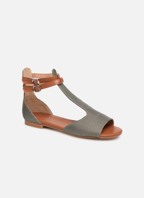 Sandales et nu-pieds Vanessa Wu SD1793 Vert vue détail/paire