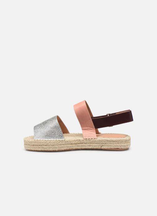 Sandales et nu-pieds Vanessa Wu SD1283 Argent vue face
