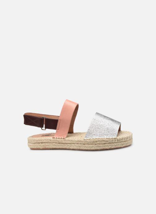 Sandales et nu-pieds Vanessa Wu SD1283 Argent vue derrière