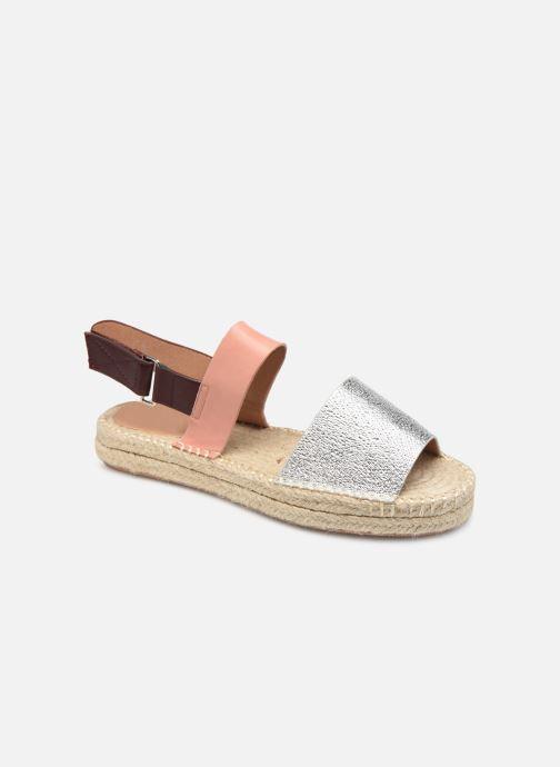 Sandales et nu-pieds Vanessa Wu SD1283 Argent vue détail/paire
