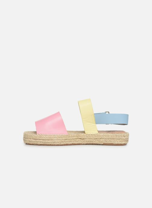 Sandales et nu-pieds Vanessa Wu SD1283 Rose vue face