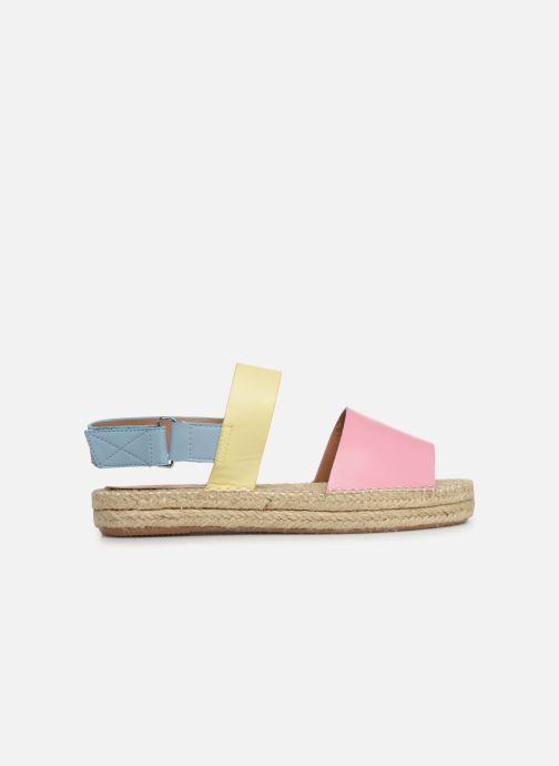Sandales et nu-pieds Vanessa Wu SD1283 Rose vue derrière