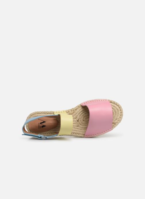 Sandales et nu-pieds Vanessa Wu SD1283 Rose vue gauche