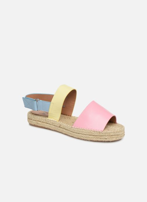Sandales et nu-pieds Vanessa Wu SD1283 Rose vue détail/paire