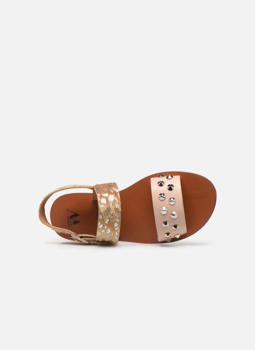 Sandali e scarpe aperte Vanessa Wu SD1720 Multicolore immagine sinistra