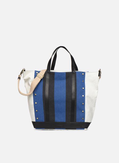 Handtaschen Vanessa Bruno Cabas Grand Rivets blau detaillierte ansicht/modell