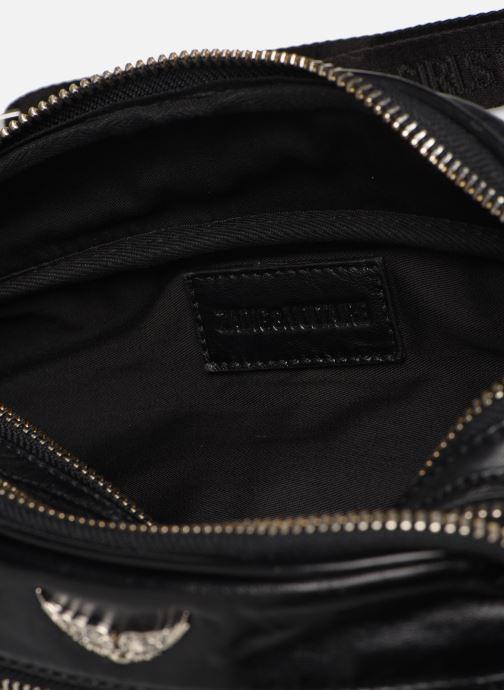 Portemonnaies & Clutches Zadig & Voltaire BANANE CRUSH schwarz ansicht von hinten