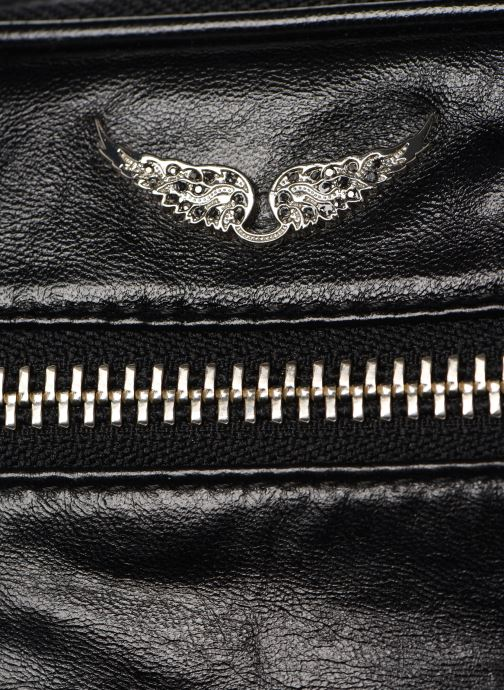 Portemonnaies & Clutches Zadig & Voltaire BANANE CRUSH schwarz ansicht von links