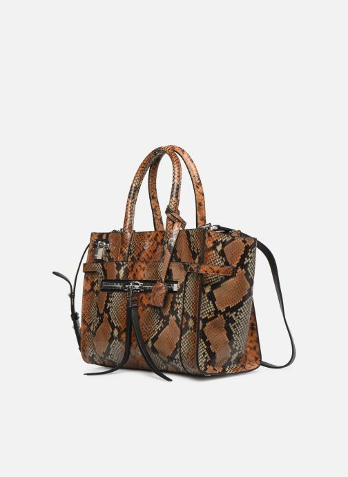 Handbags Zadig & Voltaire CANDIDE MEDIUM Brown model view