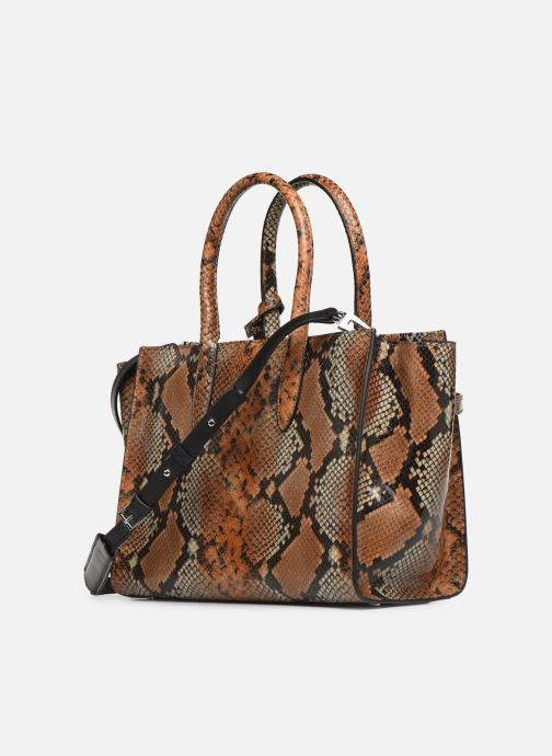 Handbags Zadig & Voltaire CANDIDE MEDIUM Brown view from the right