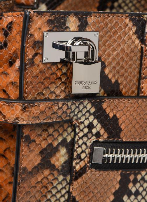 Bolsos de mano Zadig & Voltaire CANDIDE MEDIUM Marrón vista lateral izquierda