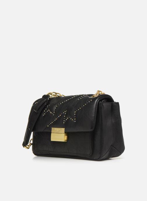 Handtassen Zadig & Voltaire ZIGGY MAT CLOUS Zwart model