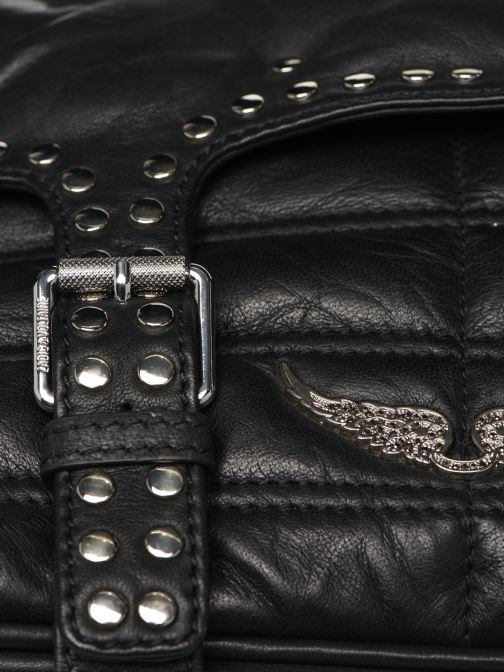 Bolsos de mano Zadig & Voltaire RIDER SMALL Negro vista lateral izquierda