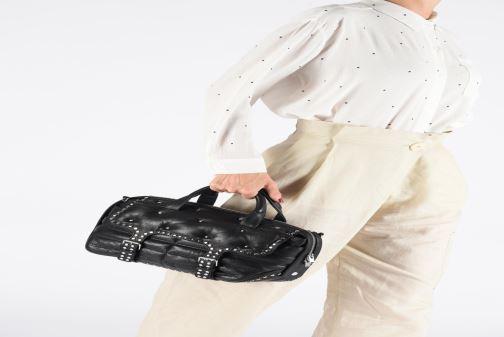 Sacs à main Zadig & Voltaire RIDER SMALL Noir vue bas / vue portée sac