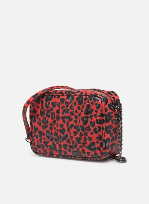 Handbags Zadig & Voltaire XS BOXY INIT LE Red model view