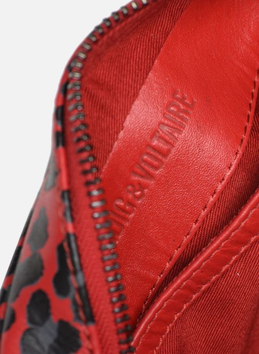 Handbags Zadig & Voltaire XS BOXY INIT LE Red back view