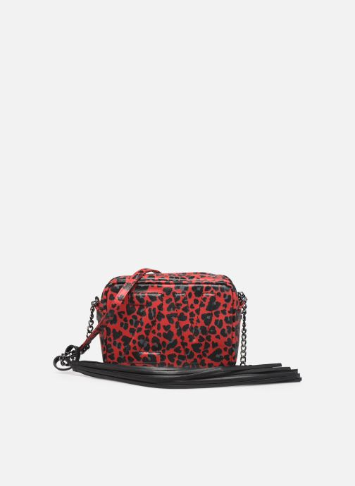 Handbags Zadig & Voltaire XS BOXY INIT LE Red view from the left