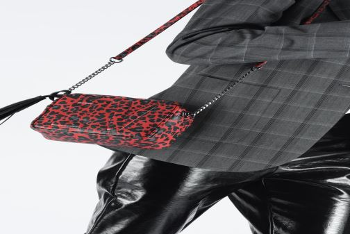 Handbags Zadig & Voltaire XS BOXY INIT LE Red view from underneath / model view