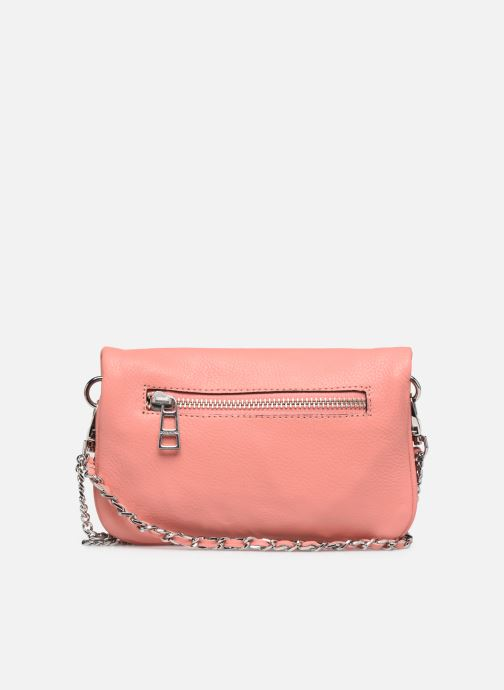 Mini Bags Zadig & Voltaire ROCK NANO GRAIN rosa ansicht von vorne