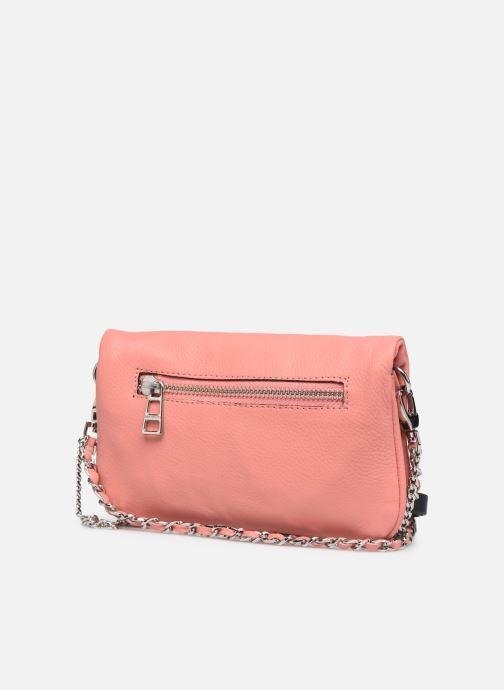 Mini Bags Zadig & Voltaire ROCK NANO GRAIN rosa ansicht von rechts