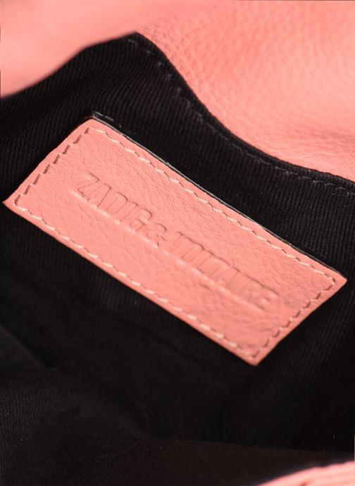 Sacs pochettes Zadig & Voltaire Rock Nano Rose vue derrière