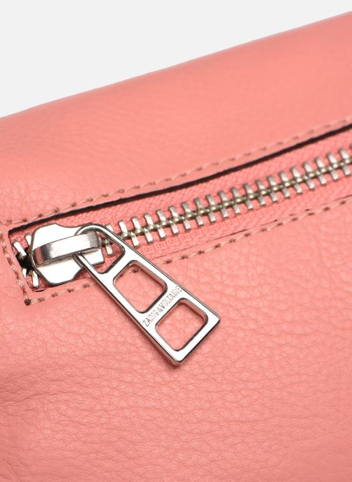 Mini Bags Zadig & Voltaire ROCK NANO GRAIN rosa ansicht von links