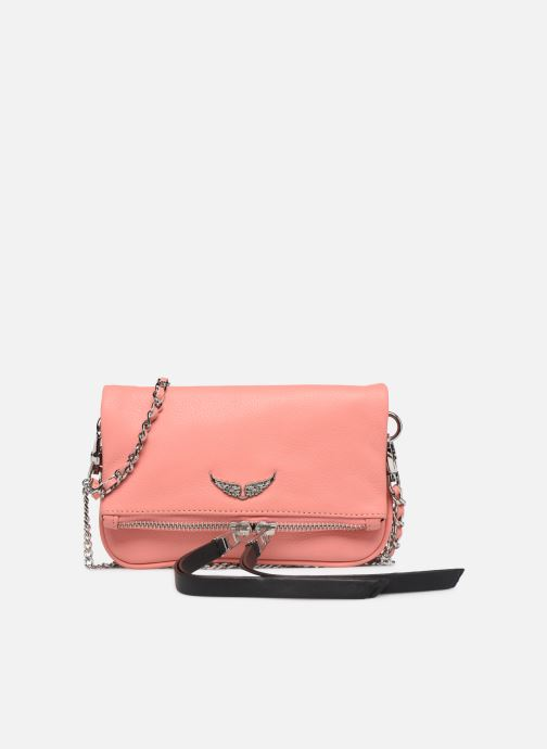 Clutch bags Zadig & Voltaire ROCK NANO GRAIN Pink detailed view/ Pair view