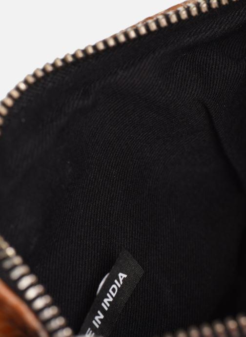 Handtassen Zadig & Voltaire ROCK NANO WILD Bruin achterkant