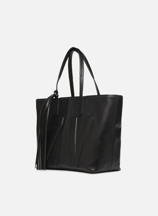 Handtaschen Zadig & Voltaire MICK INITIALS schwarz schuhe getragen