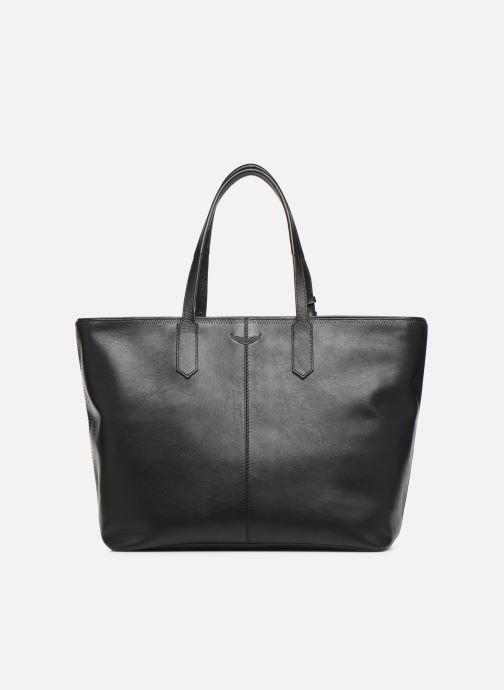 Handtaschen Zadig & Voltaire MICK INITIALS schwarz ansicht von vorne