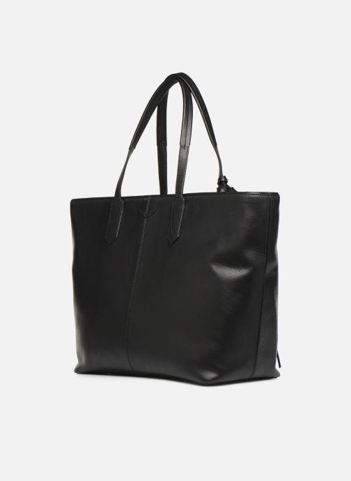 Handtaschen Zadig & Voltaire MICK INITIALS schwarz ansicht von rechts