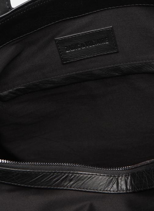 Handtaschen Zadig & Voltaire MICK INITIALS schwarz ansicht von hinten