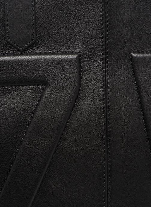 Handtaschen Zadig & Voltaire MICK INITIALS schwarz ansicht von links