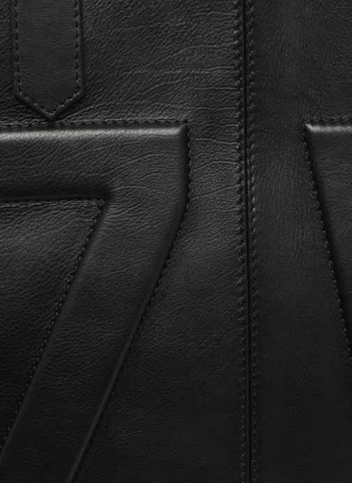 Bolsos de mano Zadig & Voltaire MICK INITIALS Negro vista lateral izquierda