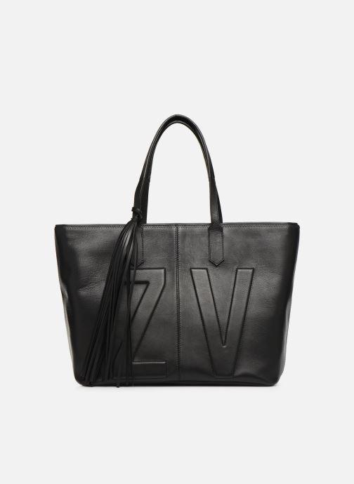 Handtaschen Zadig & Voltaire MICK INITIALS schwarz detaillierte ansicht/modell