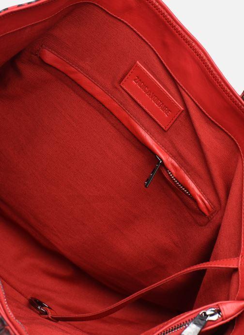Handtassen Zadig & Voltaire MICK INITIALS L Rood achterkant