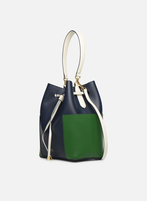 Bolsos de mano Lauren Ralph Lauren DRAWSTRING DRYDEN Azul vista del modelo