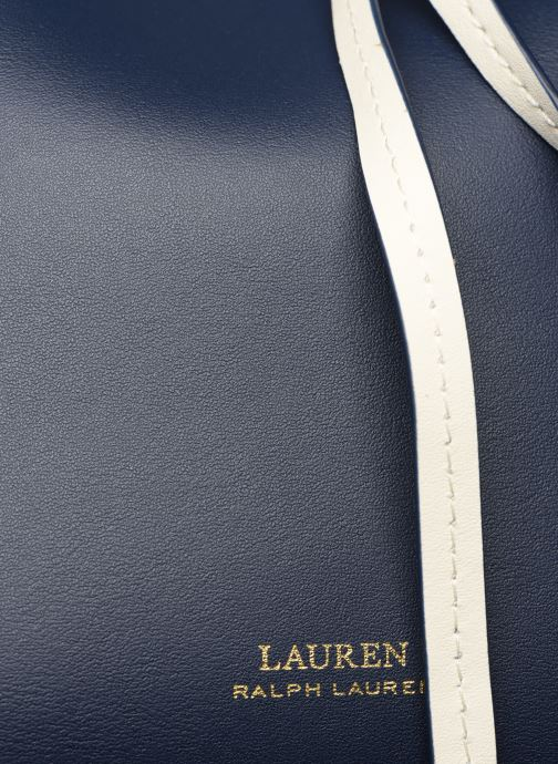 Bolsos de mano Lauren Ralph Lauren DRAWSTRING DRYDEN Azul vista lateral izquierda