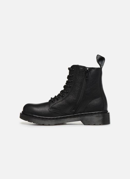 Bottines et boots Dr. Martens 1460 Pascal Mono J Noir vue face