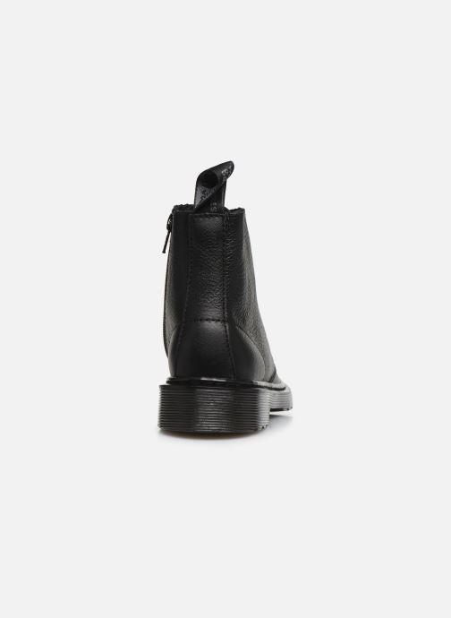 Bottines et boots Dr. Martens 1460 Pascal Mono J Noir vue droite